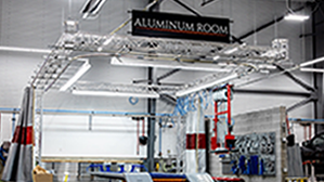 Aluminum Repair Facility